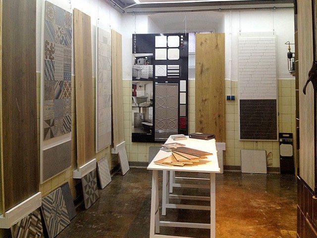 Ausstellung Fliesen Mosaik Holzböden im FLIESEN KREATIV HAUS