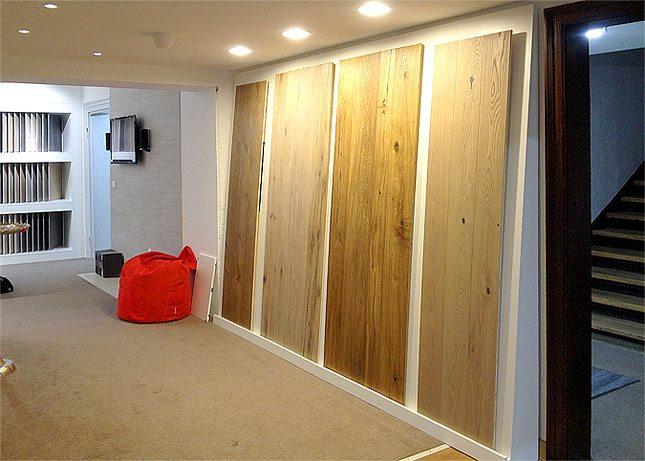 Wir verfügen über eine große Auswahl an Holzböden.
