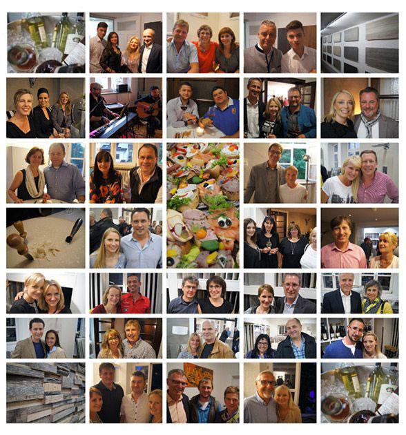 Fotos der Feier für Geschäftskunden und Freunde des FLIESEN KREATIV HAUS und PARKETT KREATIV HAUS am 18. Juni 2015 in Etterzhausen bei Regensburg / (C) Copyright FLIESEN KREATIV HAUS
