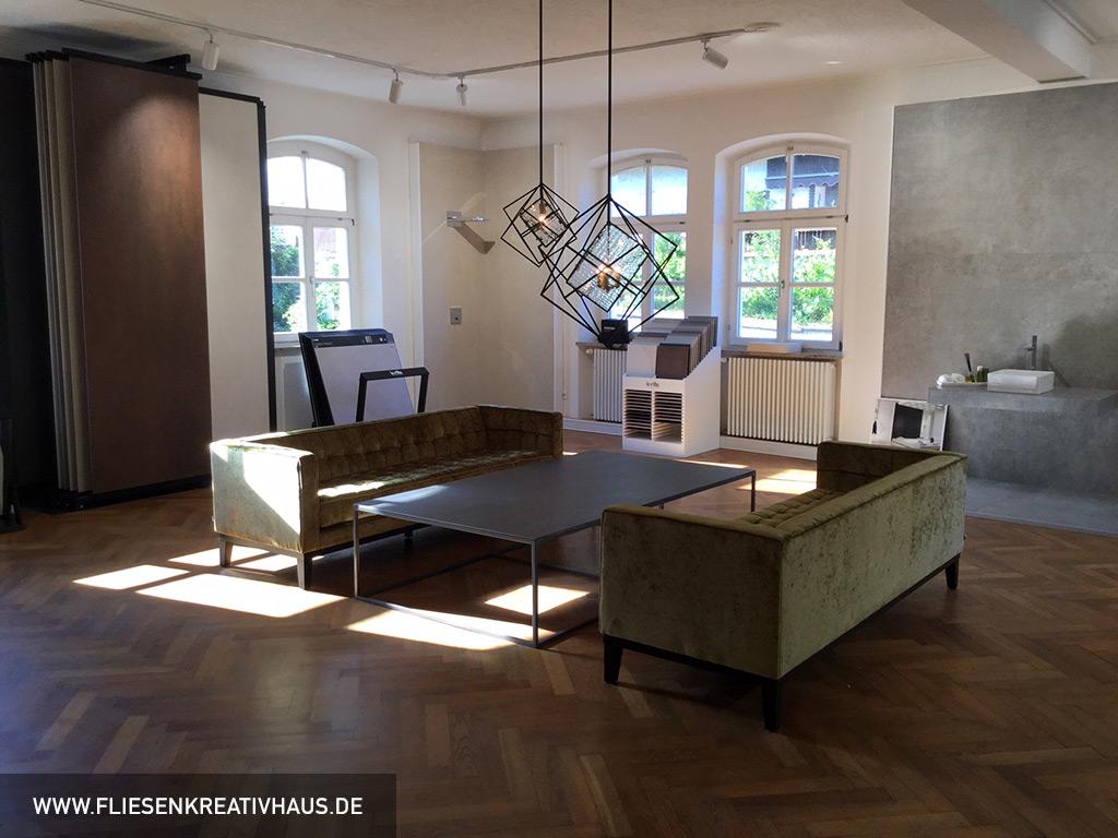 Foto Vom Fliesenkreativhaus Ausstellung Großformate 1