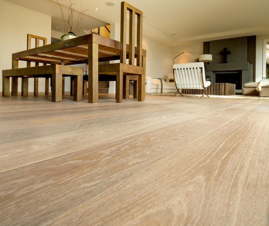Bodenbelag Mit Keramischer Holzoptik
